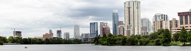 Austin Wide Skyline